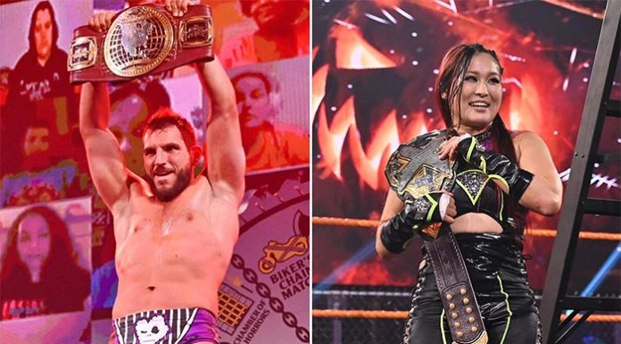 WWE NXT Halloween Havoc Results