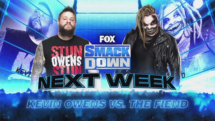 Matches for SmackDown on October 9