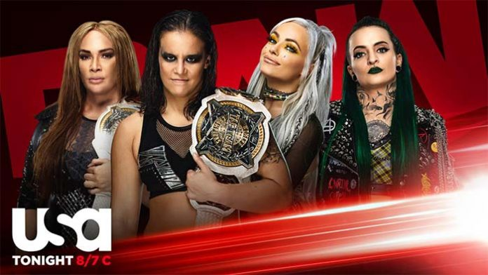 Women's Tag Titles being defended on Raw