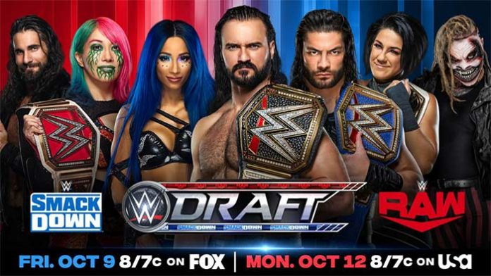 WWE Draft rules and pools announced