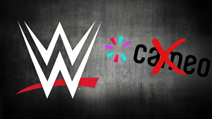 WWE takes over Cameo accounts