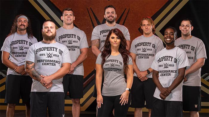 WWE signs new recruits