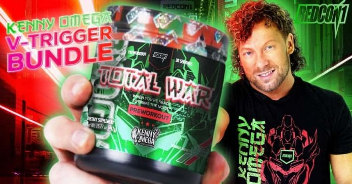 Kenny Omega launches his own supplement line