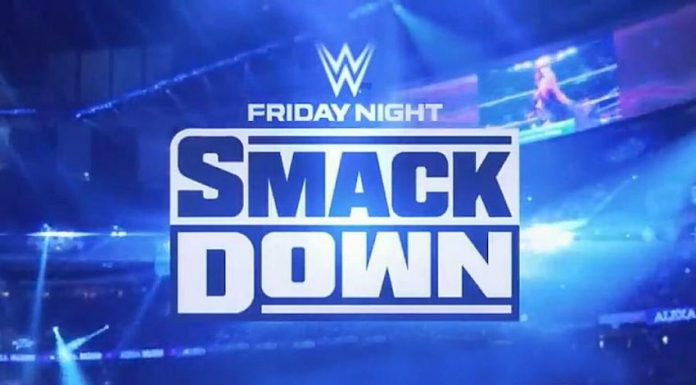 Title change at SmackDown TV taping