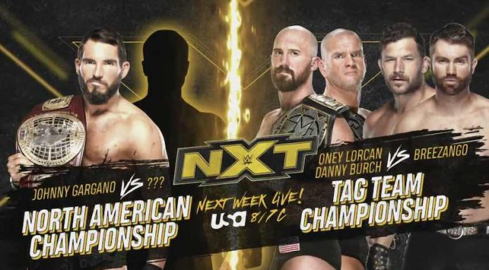 Two Championship Matches set for next week's NXT