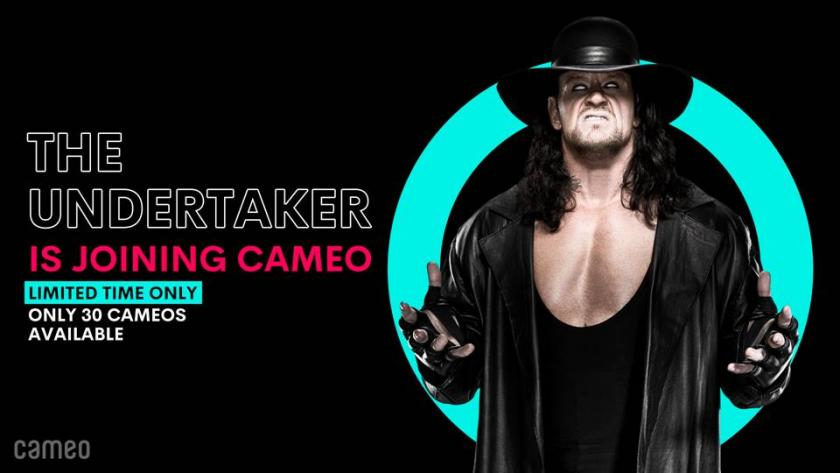 Undertaker joins Cameo for a limited time only