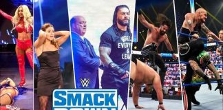 WWE SmackDown Overnight Ratings for November 6