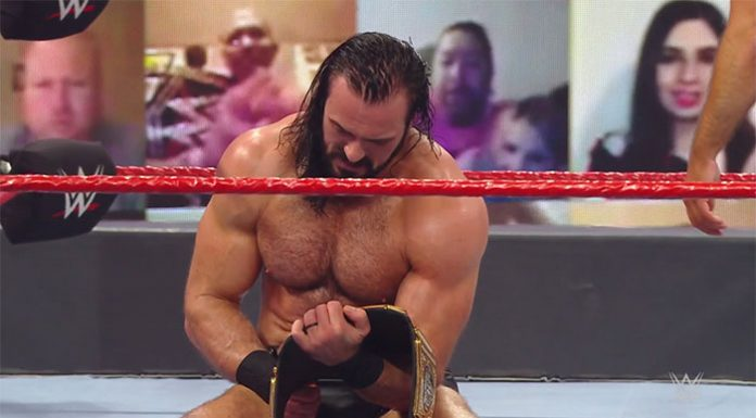 Drew McIntyre wins the WWE Championship
