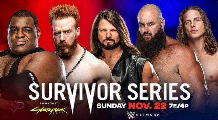 Survivor Series updated card