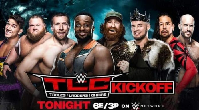 8-Man Tag Team Match announced for tonight's TLC Kickoff Show