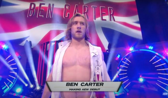 Ben Carter signs with WWE