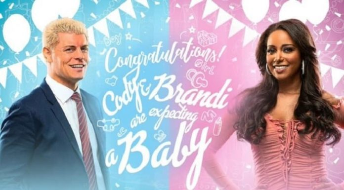 Cody and Brandi Rhodes expecting their first child