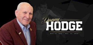 Danny Hodge passes away at age 88