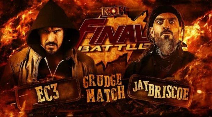 EC3 vs Jay Briscoe Final Battle 2020