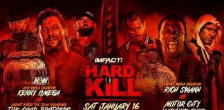 Six-Man Tag Team Match announced for Hard To Kill on January 16