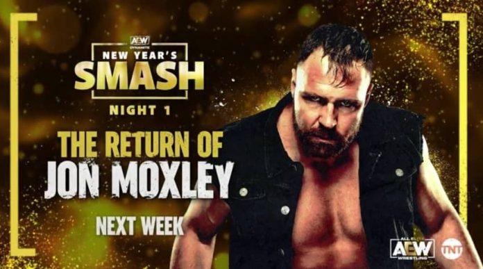 Jon Moxley returns to Dynamite next week