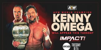 IMPACT announces Kenny Omega for Tuesday's show