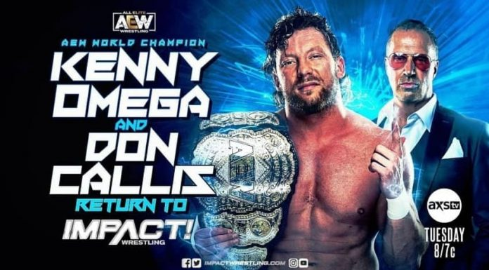 Kenny Omega set to return to IMPACT this coming Tuesday
