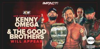 Kenny Omega returns to IMPACT next Tuesday