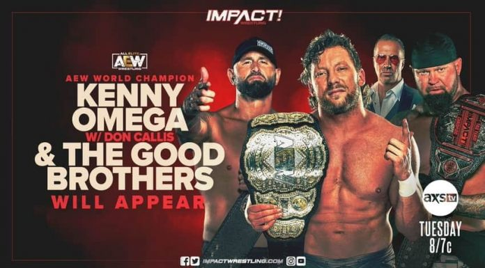 Kenny Omega returns to IMPACT next Tuesday