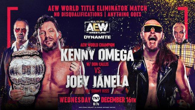 Omega vs. Janela this Wednesday on Dynamite