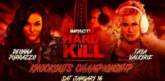 Knockouts Title Match set for Hard To Kill