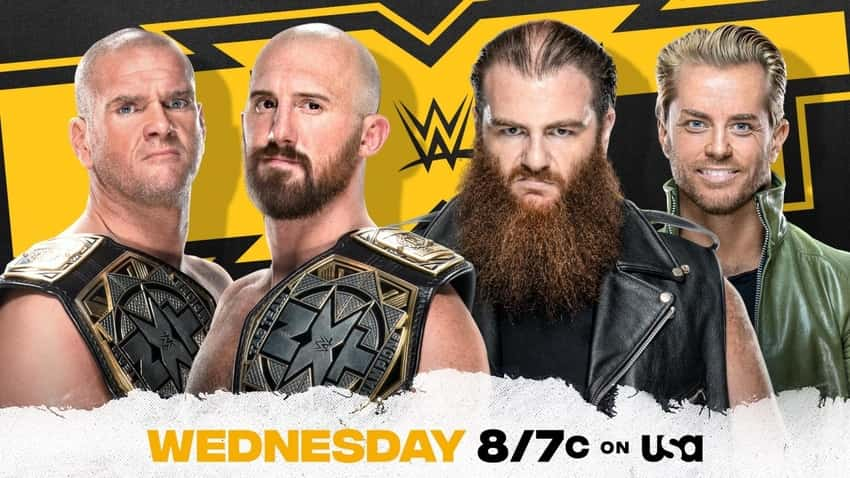 NXT Tag Team Street Fight Match announced for this week's NXT