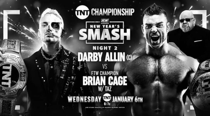 TNT Championship Match set for January 6, 2021 on AEW Dynamite