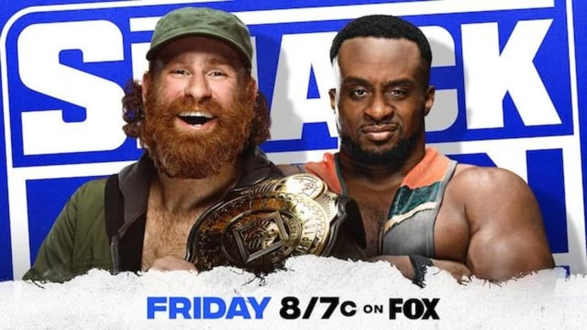 IC Title Lumberjack Match for Christmas Day episode of SmackDown