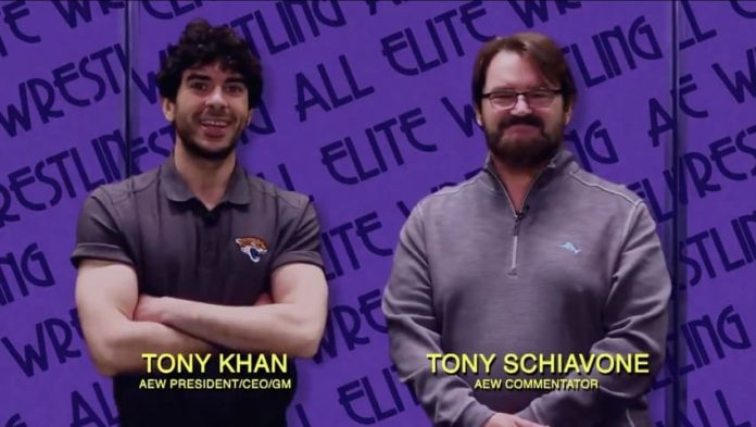 Tony Khan and Tony Schiavone appear on IMPACT