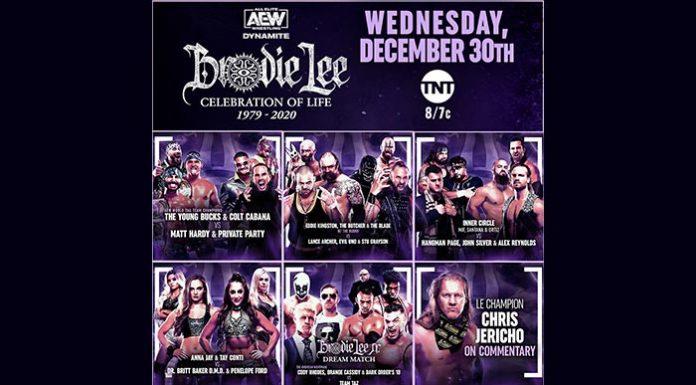 Brodie Lee Tribute show on this week's Dynamite