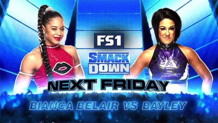 Next week's SmackDown on FS1
