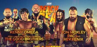 Six-Man Tag Team Match set for AEW Beach Break