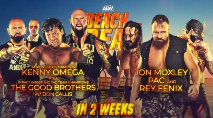Six-Man Tag Team Match set for AEW Beach Break
