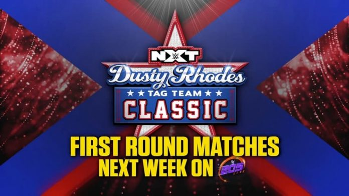 First round matches of Dusty Classic on 205 Live