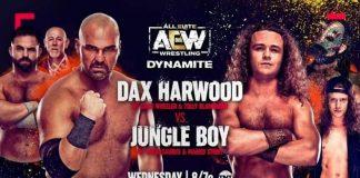 Handcuff Stipulation for Hardwood and Jungle Boy match