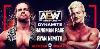 Ryan Nemeth announced for next week's AEW Dynamite