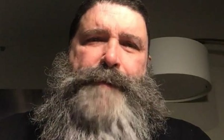 Mick Foley announces he has COVID-19