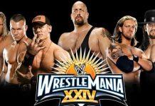WrestleMania 24 WWE Network update