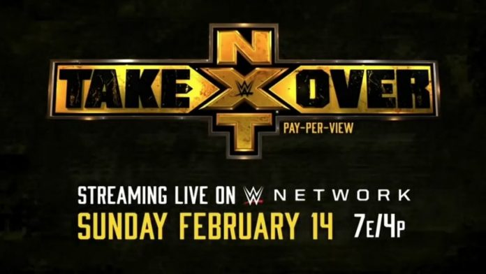 WWE announces next NXT TakeOver event for February 14