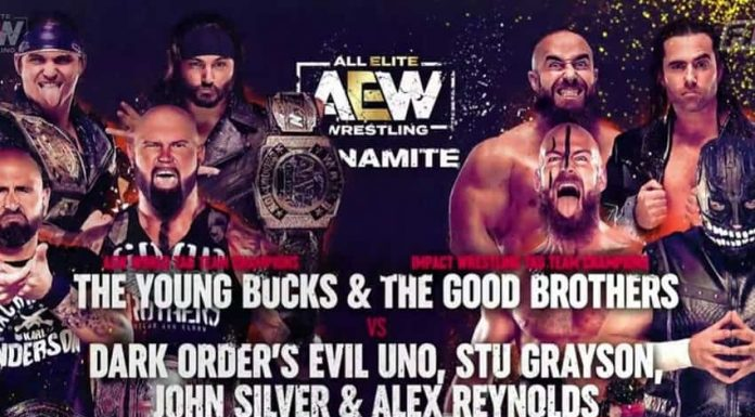 Young Bucks and Good Brother teaming together next week
