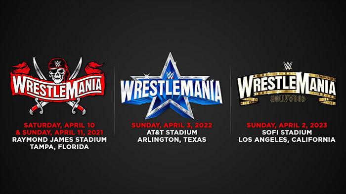WWE WrestleMania announcement