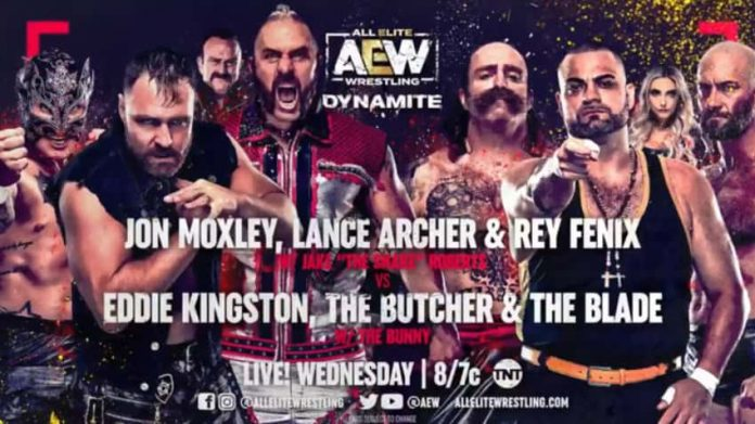 Six-man tag team match announced for Wednesday's AEW Dynamite