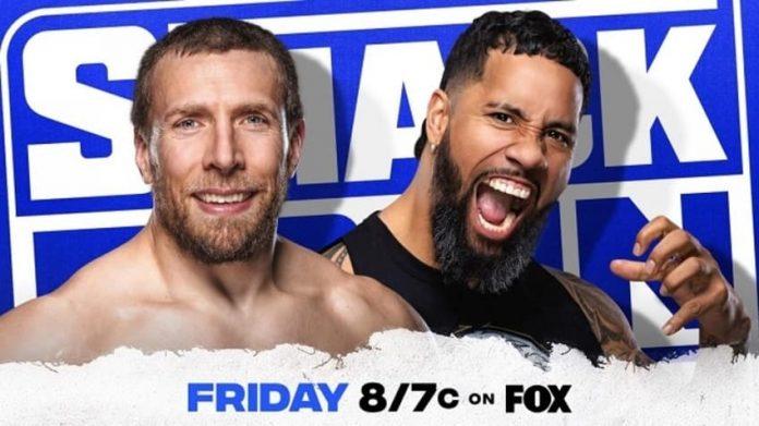 Daniel Bryan vs. Jey Uso Steel Cage Match setvfor next week's SmackDown