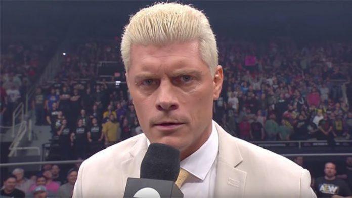 Cody Rhodes injured