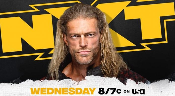 Edge appearing on WWE NXT tomorrow night