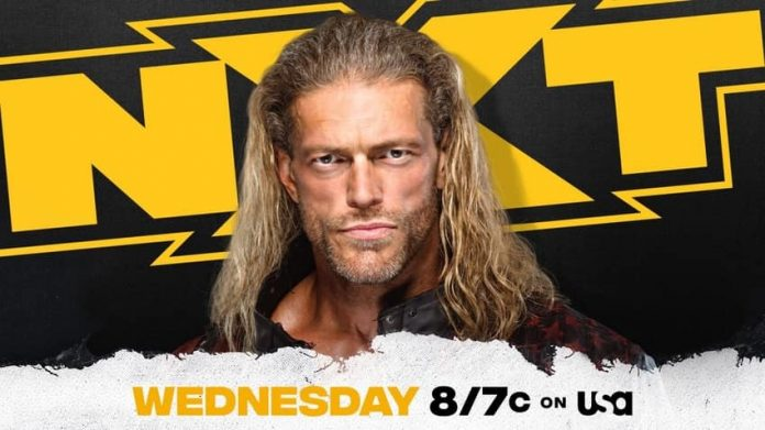 Edge appearing on WWE NXT tomorrow night