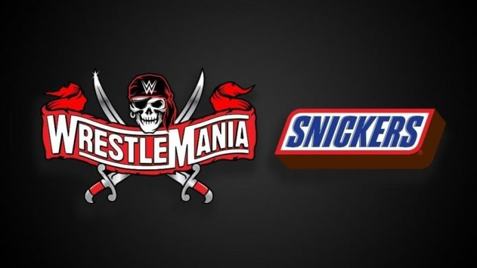 Snickers to sponsor WrestleMania for the sixth consecutive year