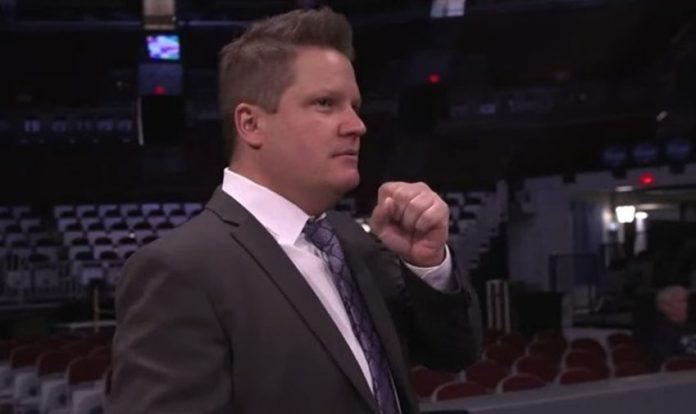 WWE SmackDown ring announcer Greg Hamilton engaged