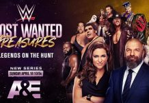 WWE and A&E announce details on 10-week partnership